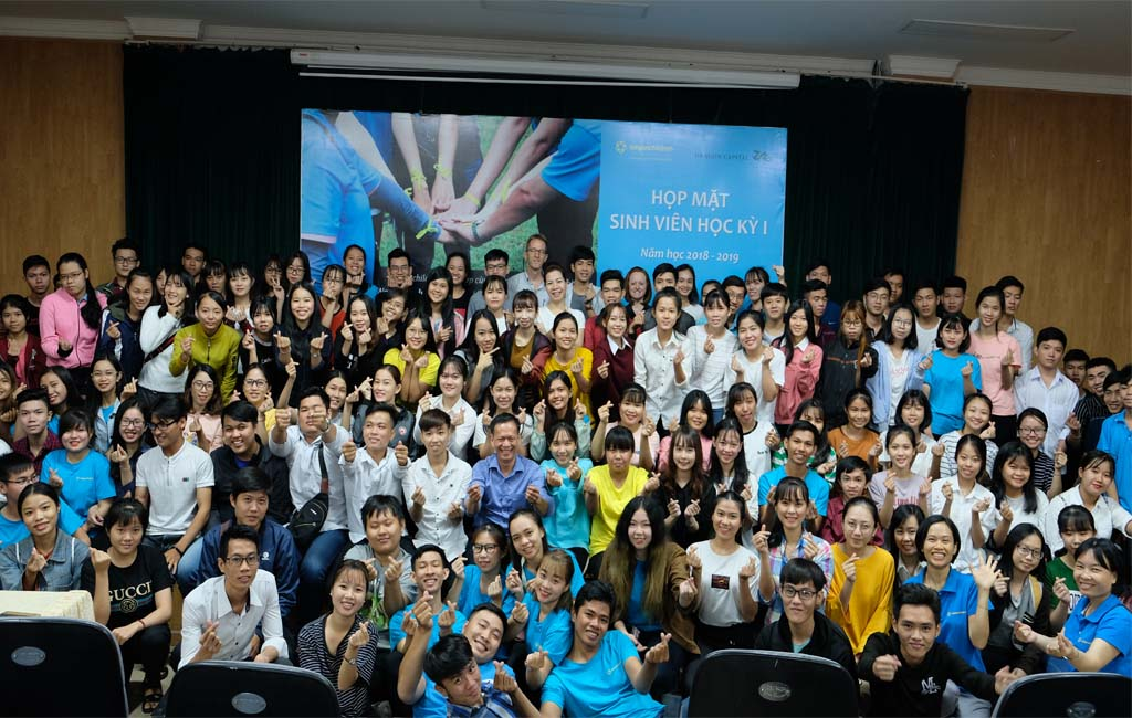 Soft Skills training provided to saigonchildren students by Dragon Capital