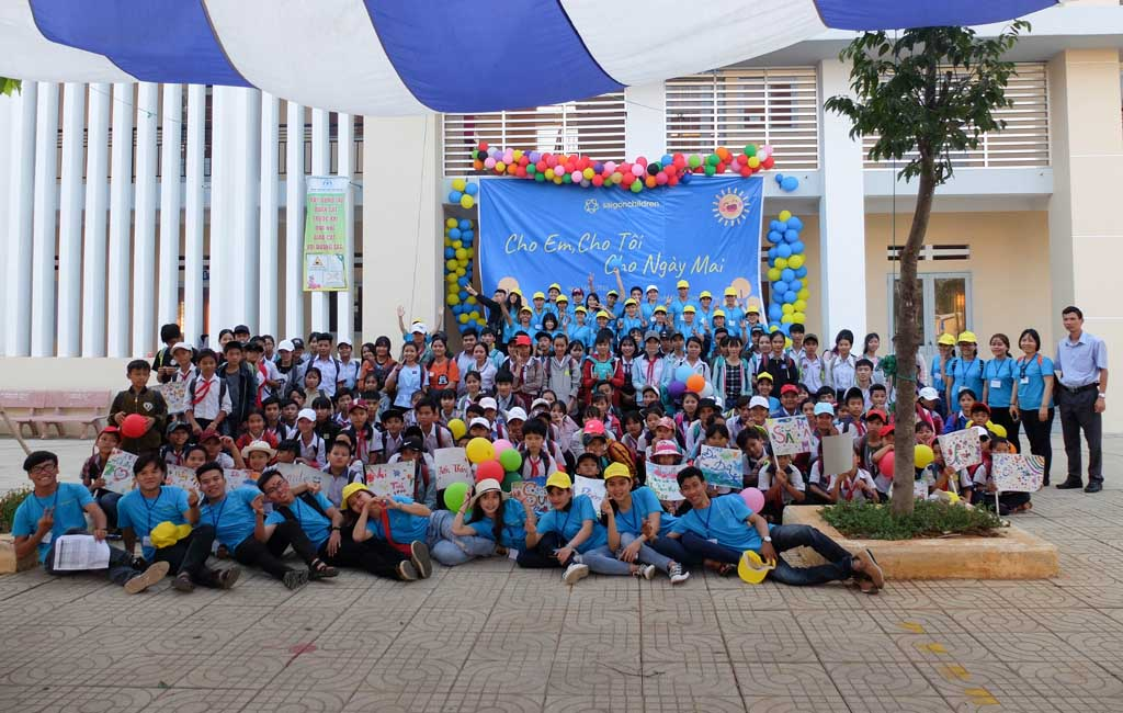 FUN FAIR 2019 ORGANIZED IN DONG NAI BY SAIGONCHILDREN STUDENTS