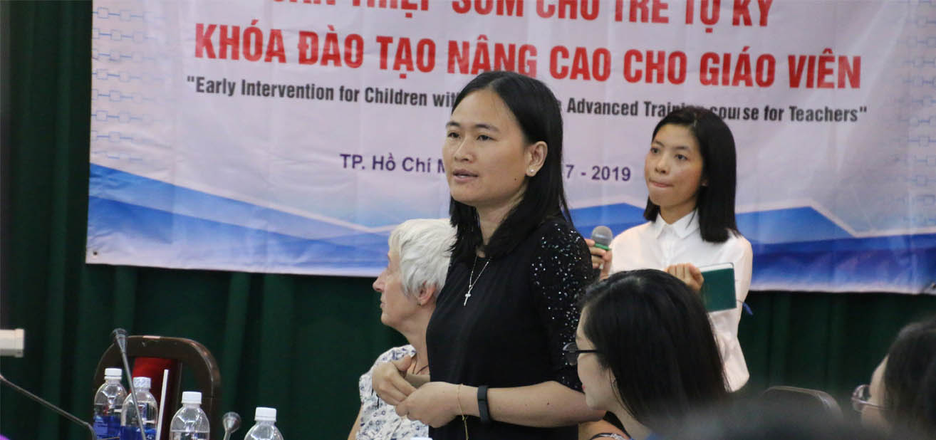 MEd Autism (Children) from British Chevening Program shares her thoughts on disabled children in Vietnam