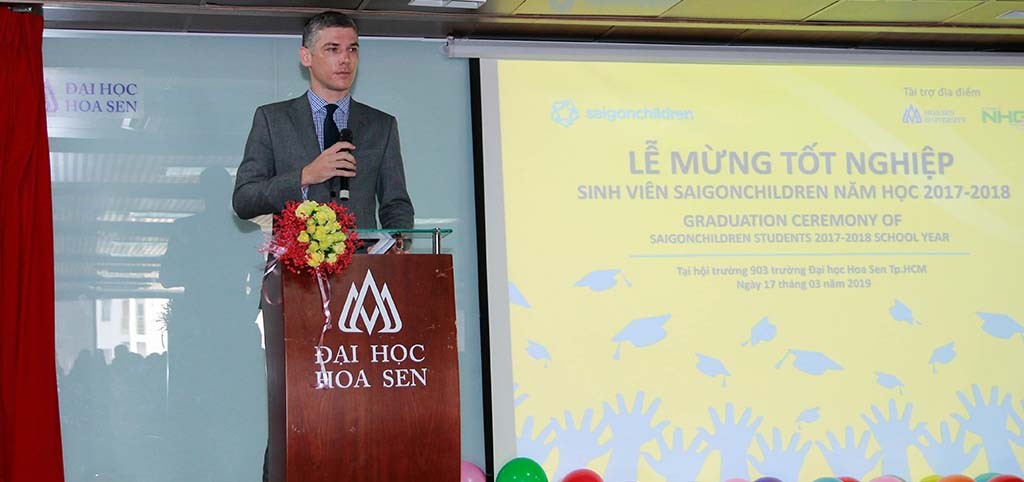 A letter from saigonchildren Executive Director: Before A New Journey