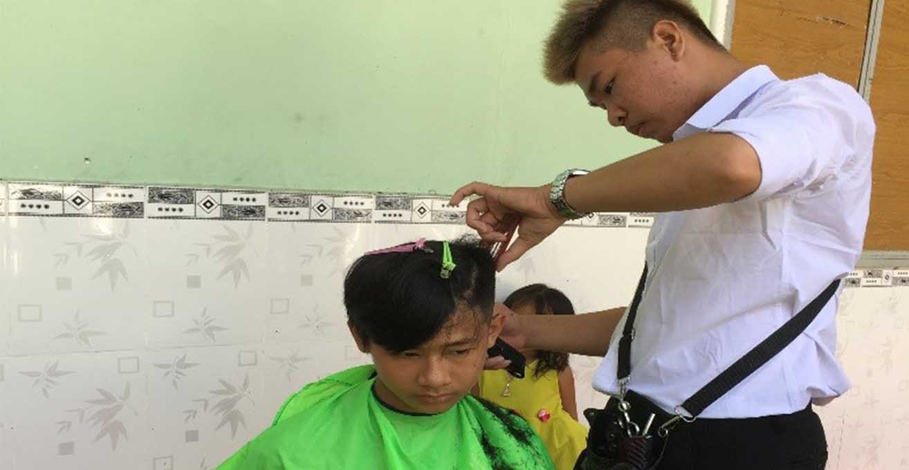 CAN'S STORY- the young successful hairstylist