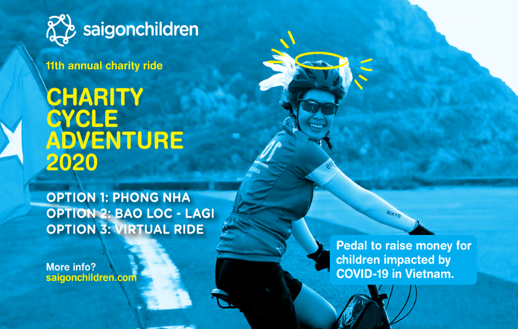 Charity Cycle Adventure 2020 in three formats