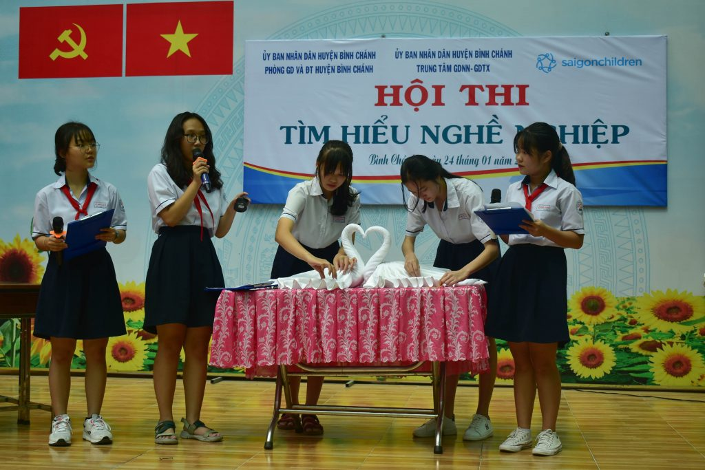 saigonchildren binh chanh secondary school